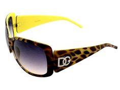DG Eyewear LOGO Style YELLOW PASTEL SPOT FRAME Design BLACK LENS Sunglasses With Storage BAG [AA616] DG Eyewear. $5.50. plastic frame. non-polarized. plastic lens. Lens width: 60 millimeters