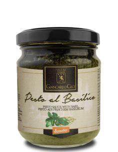 Pesto verde al basilico (biodinamico - Demeter)