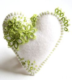 Heart Felt Apple Green Tinni For Me Please ♥ by KnotTherapy on Etsy, $25.00