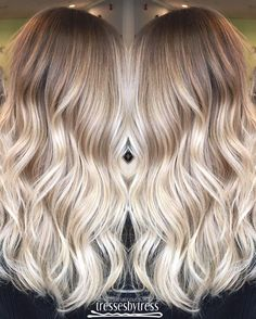 Wonderful Blonde ombré balayage ..