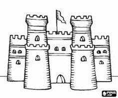 Resultado de imagen para castillo medieval de tres torres