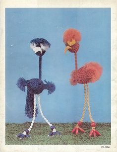 Macrame is For The Birds Judy Palmer 1979 back cover by Zombie Leah, via Flickr
