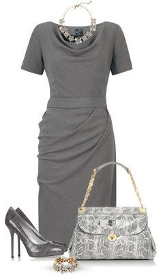 Нескучный офисный стиль: модные комплекты для работы 2015-2016 - Ladiesvenue