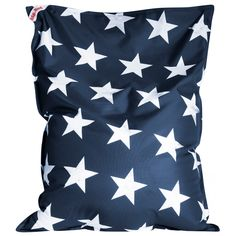 Sitting PointBig Bag Brava Stars - jeansblau - 130x170 c