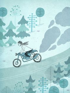 For a young woman on the road, motorcycles meant autonomy and then togetherness. Love Essay, True Love Stories, Modern Love, Ride Or Die, New Love, Ny Times, Young Women, Graphic Illustration, Give It To Me