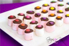 Smarshmellows.. Marshmellows+chocolate melts+smarties