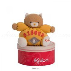 ptit chat bisous - Kaloo sweet life : Ce petit chat sera le gentil compagnon des enfants pour partager câlins et bisous tout au long de leurs journées. http://www.avenuedesanges.com/fr/kaloo-sweet-life/3830-p-tit-chat-bisous.html