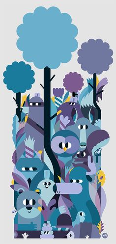 the woods - Fonzy Nils