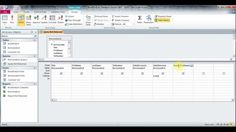 Microsoft Access 2010 2007 Part 5 More About Query Form And Switchboard Manager