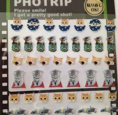Japan Qlia Kawaii JAPANESE CATS sticker by kawaiistickers4you; $3.00