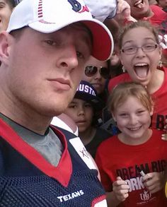JJ Watt and fans