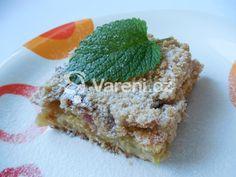 Nejlepší rebarborový koláč, který jsem kdy jedla. Recept rozhodně stojí za vyzkoušení. Vareni.cz - recepty, tipy a články o vaření.
