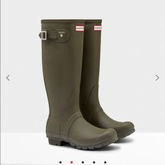Pink Hunter Boots | The InfluenceHer Collective | Pinterest