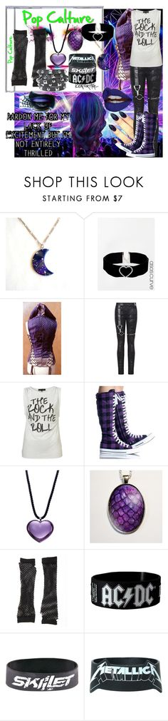 """""""Icon For Hire ~ Pop Culture"""" by xx-black-blade-xx ❤ liked on Polyvore featuring ASOS Curve, Baccarat, Charlotte Russe and Presh"""