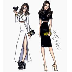 ultimatekimkardashian:  Kylie and Kendall by Hayden Williams