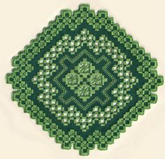 Hardanger embroidery H105o | My design. See more at lynxlace… | Flickr