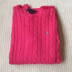 J. Crew cotton sweater Darling pink cotton sweater; not pale pink ...