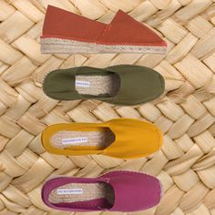 Naturally charming - MARIOLA - hand stitched cotton canvas espadrilles made in Spain at EsoadrillesEtc