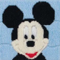 Mickey Mouse Longstitch
