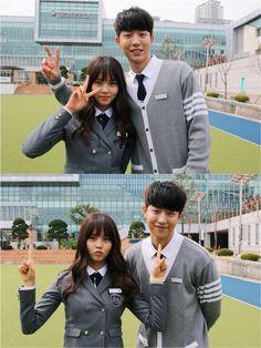 School Who are you Nam Joo Hyuk & Kim So-hyun Asian Actors, Korean Actresses, Korean Actors, Actors & Actresses, Yook Sungjae, Btob, Who Are You School 2015, Sung Joon, K Drama