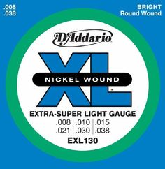 DAddario EXL130 Nickel Wound Electric Guitar Strings ExtraSuper Light 838 >>> More info could be found at the image url.Note:It is affiliate link to Amazon.