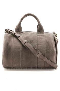 The Duffel Alexander Wang Rocco Duffel Bag, $925; shopbop.com I should be able to crochet this