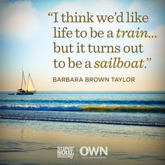 In life you don't always get to pick your destination, sometimes you have to explore where the wind takes you.  Barbara Brown Taylor is telling us more this #SuperSoulSunday. Experience Quotes, Oprah Quotes, Sunday Quotes, Success Quotes, Truth Quotes, Life Quotes, Gary Zukav, Overcoming Fear Quotes, Eckhart Tolle