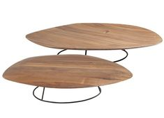 Pebble Low Tables by Ligne Roset Modern Coffee Tables Los Angeles