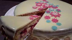 Gâteau de Savoie et sa pâtissière-framboises | Les créations de Mumu et autres gourmandises…