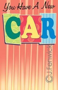 New Car Cards