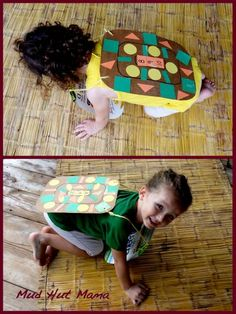 I'm going to do these with the letters of the kids' names on the tummy and shapes on the back.