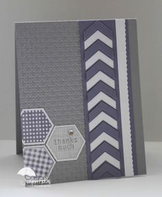 Design Ideas | SU Hexagon plus Chevron