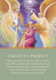 Oracle Card Creative Project | Doreen Virtue | official Angel Therapy Web site