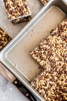 Healthy Rice Crispy Treats - One Degree Organics
