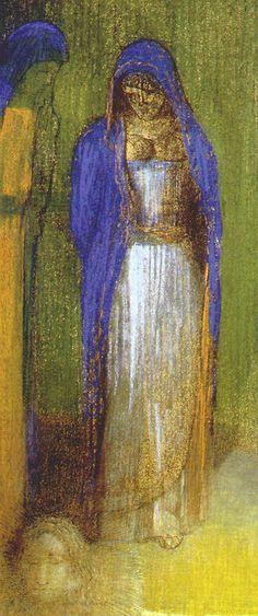 Salome - Odilon Redon 1893