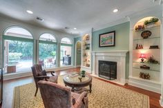 10 Floret The Woodlands, TX 77382: Photo Floor to celling window greet you as you walk in front door