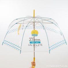 Paraguas - Llueve pero soy un solete