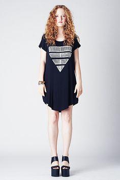 Cap Dress - Black Shield 2 - love this, so siimple
