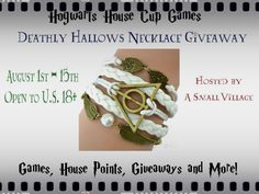 #HarryPotter Bracelet Giveaway open 8/1-8/15 http://www.thegirlfromasmallvillage.com/harry-potter-bracelet-giveaway/