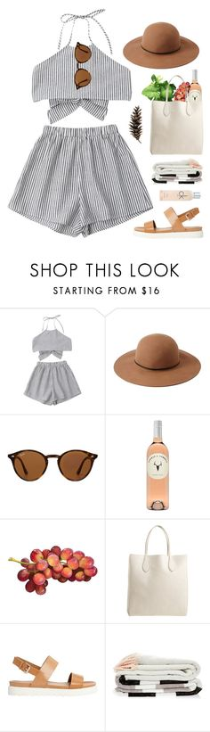 """""""Picnic #942"""" by maartinavg on Polyvore featuring Forever 21, Ray-Ban, Rochas, ALDO, Calvin Klein and Vernissage"""