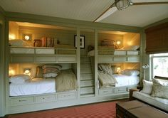 Bunk beds for a rental or vacation property