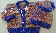 Passeando pela internet encontrei um modelo de casaquinho de bebê que me interessou. Está no endereço http://1000artes.blogspot.com.br/p/re...