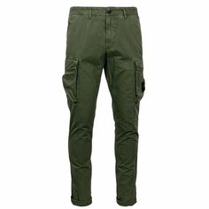 318WA STONE ISLAND TROUSERS IN COTTON CANVAS Trousers Clothing for Men - Contre - Clothing and Accessories for Men / Women online