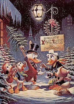 §§§ : Scrooge's Xmas Trees No Discounts: Disney : 1950s