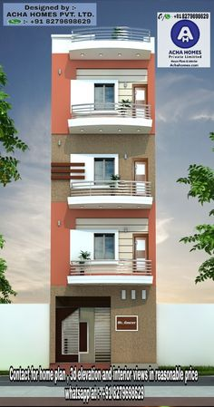 900 square feet 3 bedroom apartment model contemporary house plan by Acha Homes pvt ltd,kasargod, Kerala. House Outer Design, House Front Design, Small House Design, Village House Design, Kerala House Design, Indian House Exterior Design, 3 Storey House Design, Bungalow House Design, House Layout Plans