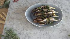 Radicchio alla griglia con olive e capperi