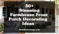 30+ Farmhouse Office Desk Ideas – FarmhouseMagz Farmhouse Office, Modern Farmhouse, Farmhouse Style, Small Front Porches, Farmhouse Front Porches, Porch Decorating, Decorating Ideas, Siding Materials, Entrance Decor