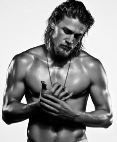 Charlie Hunnam is officially Christian Grey!