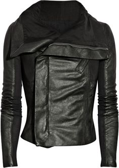 I absolutely love this jacket.  I have been looking for a fitted leather jacket.