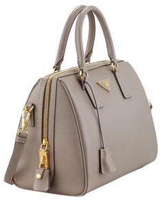 f712b5073f Prada Saffiano Shoulder-Strap Bowler Bag